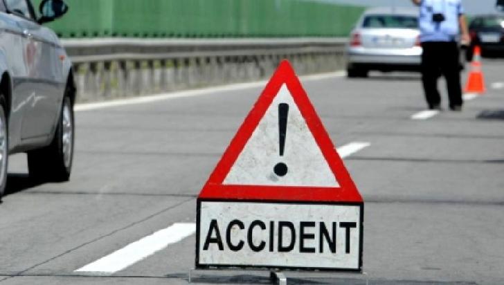 Accident rutier la Valea Călugărească