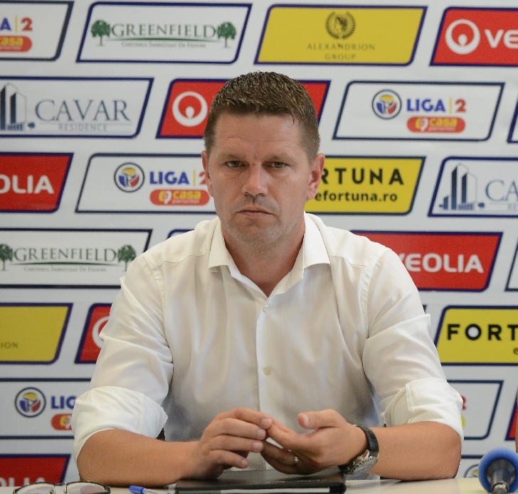 """Flavius Stoican """"Concentrare, determinare, atitudine, agresivitate"""" la meciul cu UTA"""