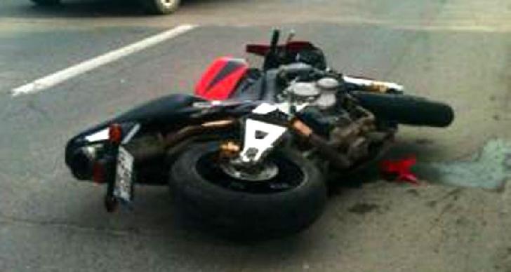 Accident cu un motociclist în Ploieşti, pe Bulevardul Republicii