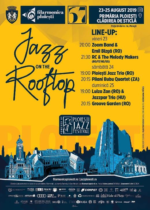 """Festivalul Internaţional """"Jazz on the Rooftop"""" începe, vineri, la Ploieşti"""