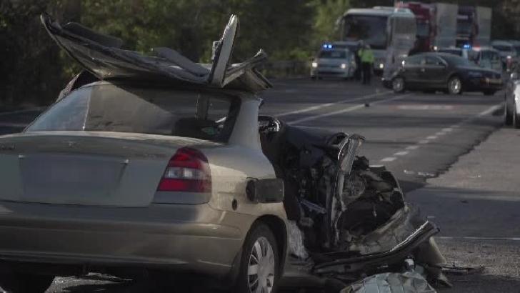 Accident rutier la Sinaia. Tamponare între 6 autoturisme