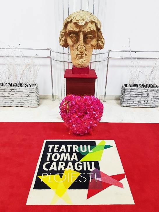"""Teatrul """"Toma Caragiu """"Ploieşti a adus un omagiu actorului caaruia ii poartă numele"""