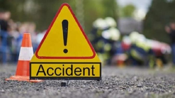 Accident rutier la Sinaia