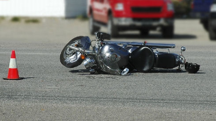 Accident cu un motociclist, la Măgurele