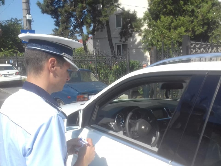 4 sanctiuni aplicate de politistii rutieri, intr-o actiune desfasurata in Ploiesti