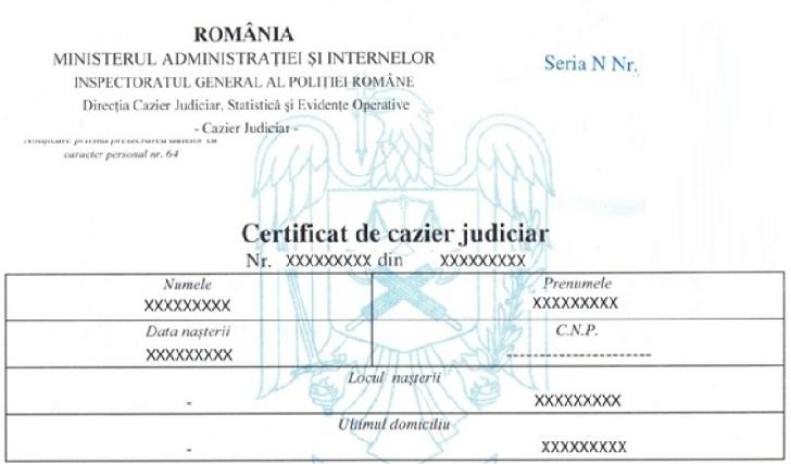 SFATURI PENTRU EVITAREA AGLOMERĂRII LA GHIŞEELE DE ELIBERARE A CERTIFICATELOR DE CAZIER JUDICIAR