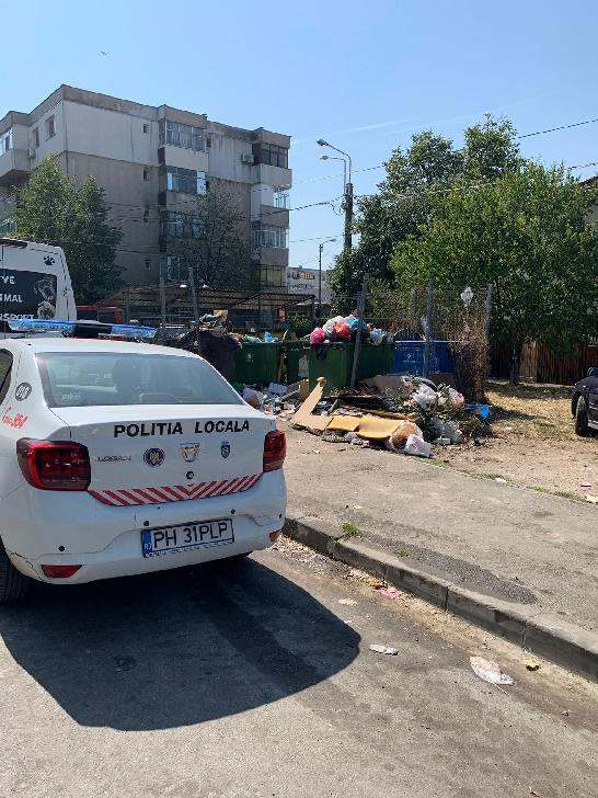Politia Locala Ploiesti a amendat Rosal Grup
