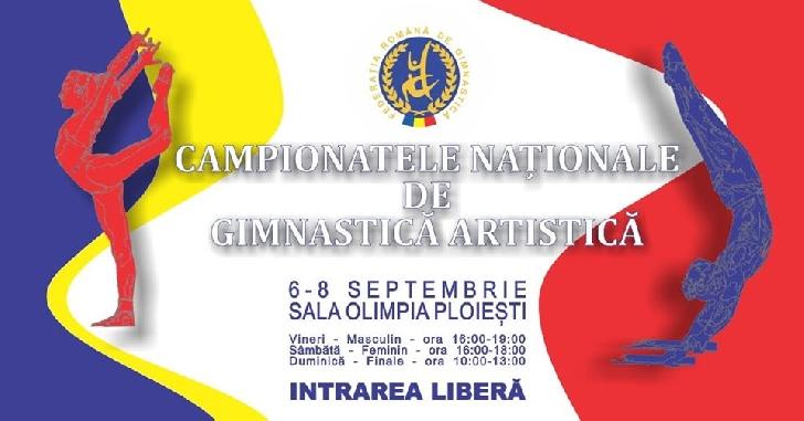 Campionatele  Naţionale de Gimnastică Artistică Individuale Open se vor desfasura la Ploiesti