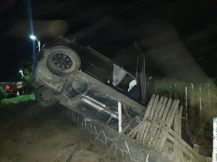 Accident spectaculos în comuna Bălţeşti