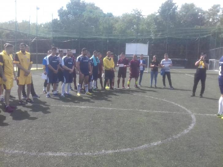 """Deţinuţii de la Penitenciarul Mărgineni au câştigat Cupa"""" Fotbal pentru toţi"""""""