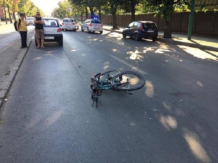 Accident rutier în cartierul Albert din Ploieşti