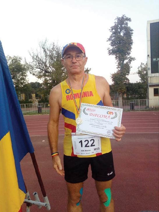 O nouă medalie pentru atletul prahovean, Ion Marian