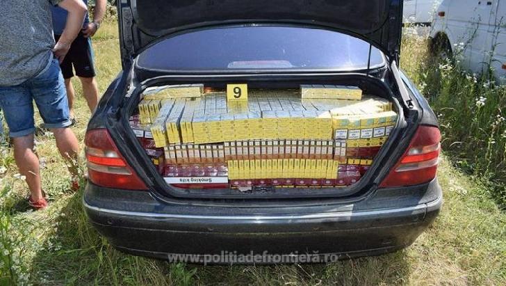 Judetul Prahova.Percheziţii  la membrii unei reţele de contrabandă cu ţigări
