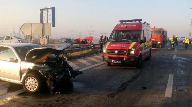Accident rutier pe DN 1, la intersecţia cu DJ 720