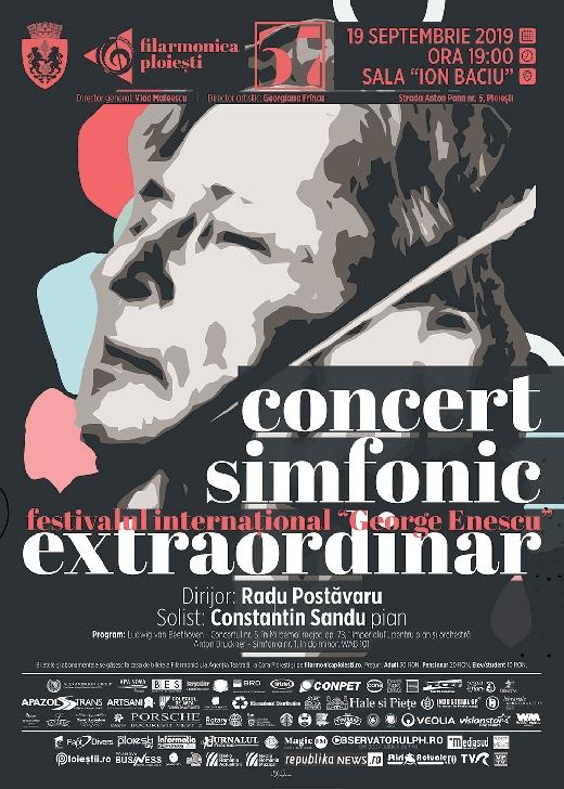 """""""Imperialul"""" lui Beethoven se va auzi din nou la Filarmonica """"Paul Constantinescu """" Ploiesti"""
