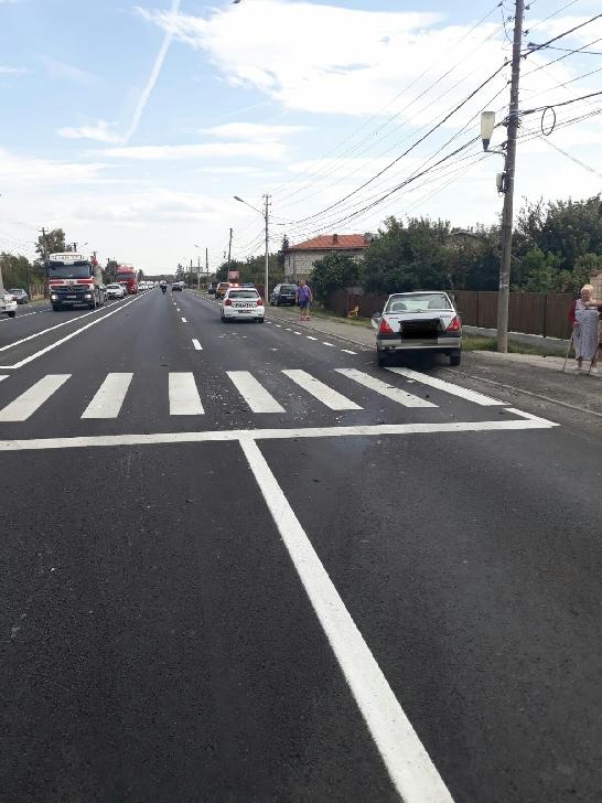 Accident rutier, marţi după amiază, în satul Româneşti