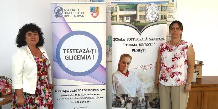 """Asociaţia Diabeticilor din Prahova  va lansa proiectului """"Prahova spune Da pentru sănătatea Ta"""""""