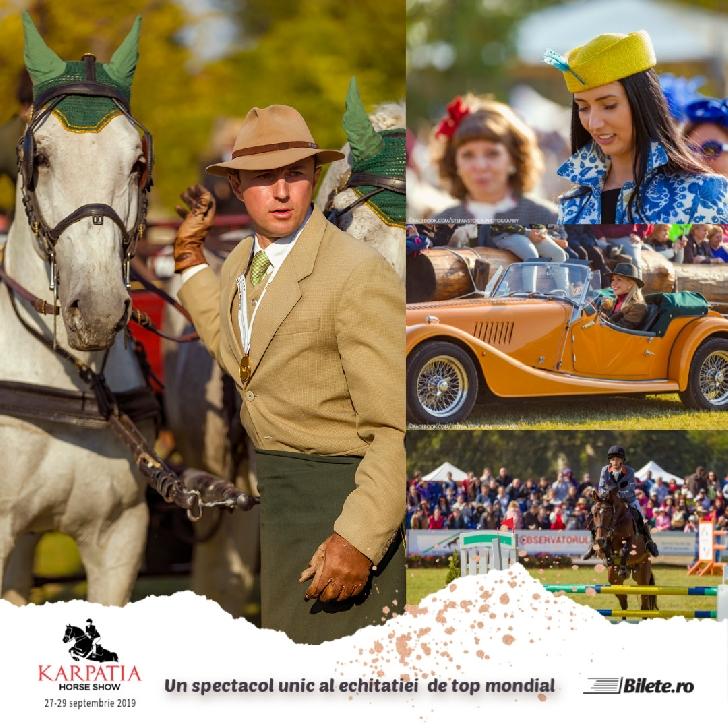 Karpatia Horse Show,editia a 6 a,la Domeniul Cantacuzino de la Floreşti Prahova