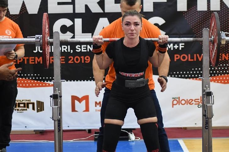 Prima ediţie a CN de Powerlifting a avut succes. CS Iron Team Ploieşti, 31 medalii de aur