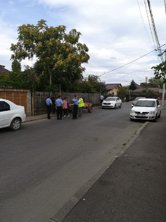 Comunicat Politia Locala Ploiesti.Confiscare atelaje hipo şi sancţiuni depozitare deşeuri