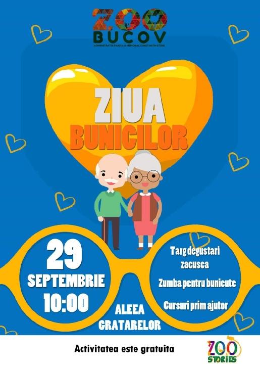 "ZIUA BUNICILOR la  Parcul ""Constantin Stere"" Bucov"