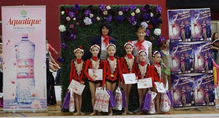 Gimnastele de la CSM Ploieşti, 34 de medalii obţinute la Cupa Pro Ritmic