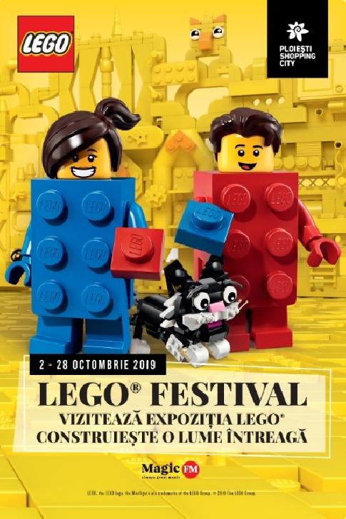 LEGO Festival aduce culoare şi play time la Ploieşti Shopping City