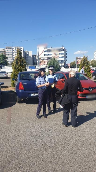 Activităţile poliţiştilor prahoveni pentru prevenirea furturilor din autovehicule au continuat in municipiul Ploieşti
