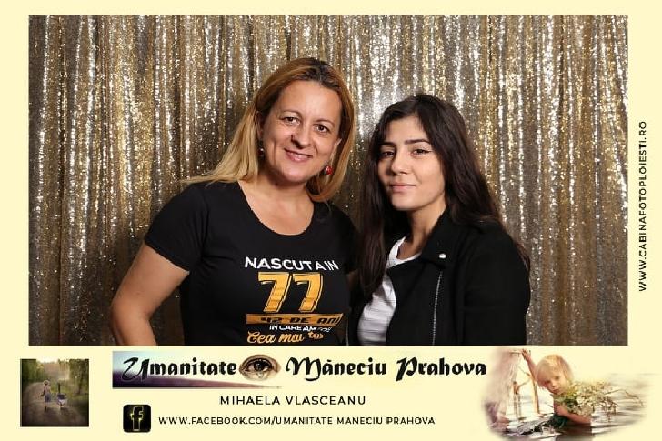 O femeie din comuna Măneciu,cu suflet bun şi deschisă spre voluntariat, a organizat o petrecere a voluntarilor