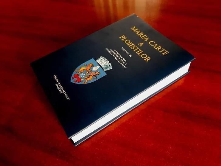 Marea Carte a Ploiestiului ( volumul 3 ) va fi lansata pe data de 22 octombrie 2019