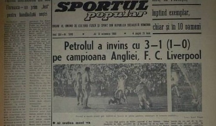 53 de ani de la victoria cu FC Liverpool