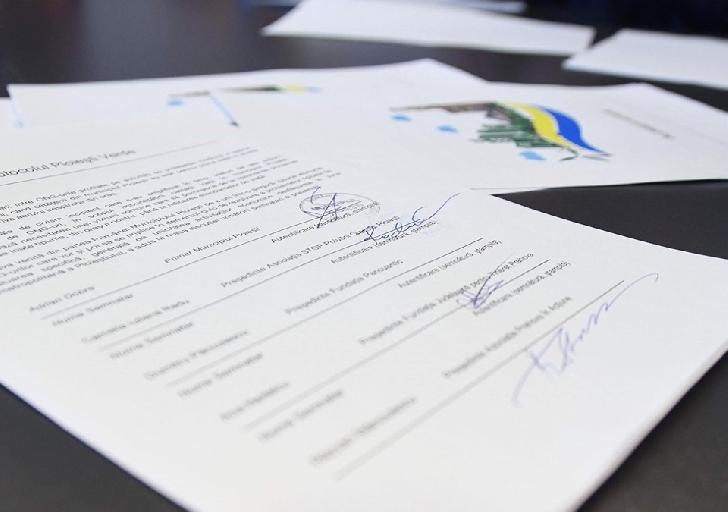 """Primaria Ploiesti a semnat  protocolul """" Ploiestiul Verde"""""""