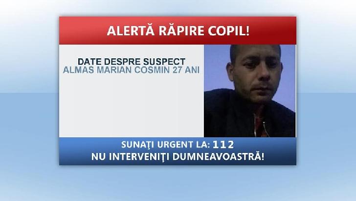 ALERT NEWS.O minora a fost rapita.Daca o vedeti sunati la 112