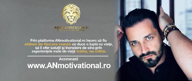 Adrian Niculescu, un antreprenor şi speaker motivational de succes