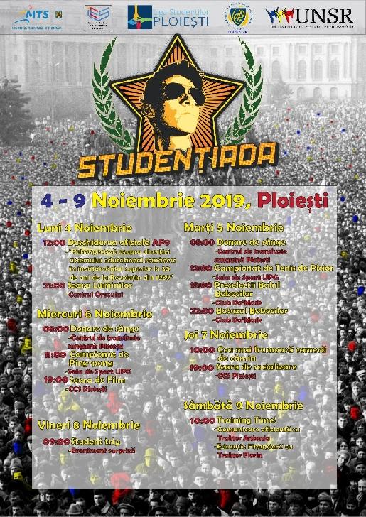 Festivalul Naţional Studenţiada 2019