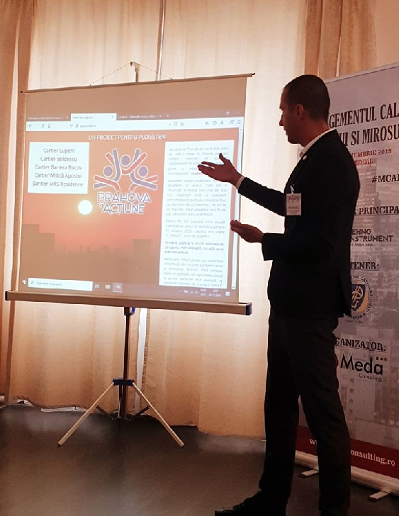 """Comunicat Asociatia """" Prahova în acţiune """".Avocatul  Răzvan Stănciulescu,reprezentant al societăţii civile ploieştene în cadrul Conferinţei """"Managementul calităţii aerului şi mirosului"""""""