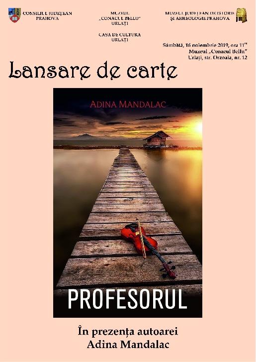 """Lansare de carte la Comunicat Muzeul """"Conacul Bellu"""" din Urlaţi"""