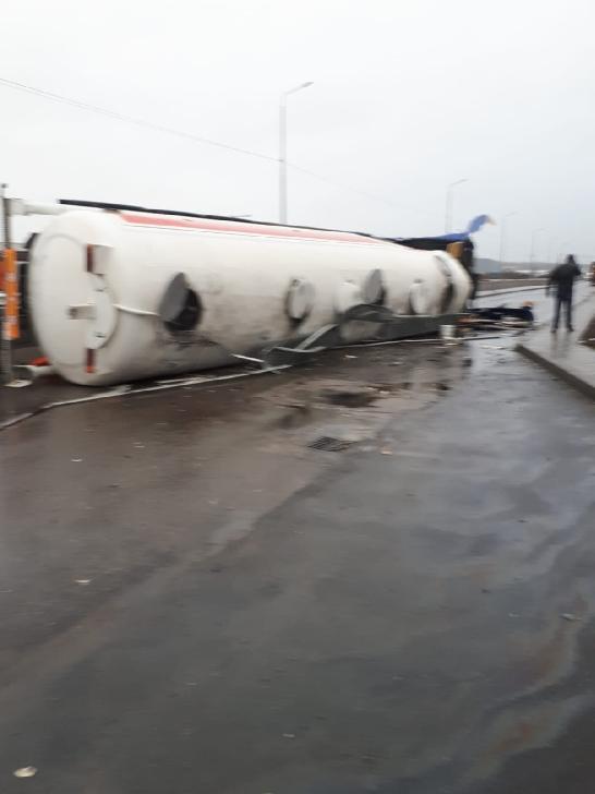 Accident rutier în Parcul Industrial Ploieşti