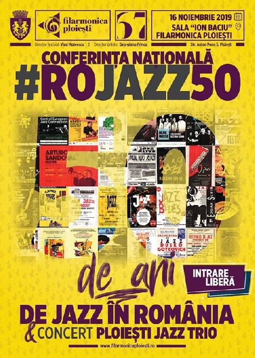 Conferinta nationala:50 de ani de jazz la Ploiesti
