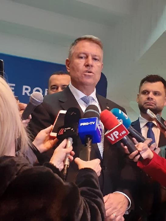 Preşedintele României, Klaus Werner Iohannis a fost la Ploieşti,in vizita electorala (foto si video)