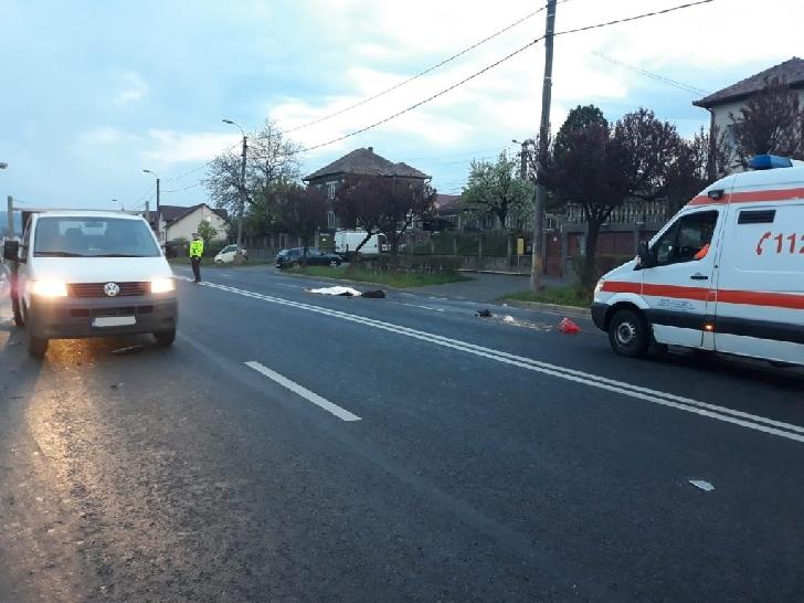 La Măgureni, un bărbat a decedat după ce a traversat neregulamentar stradă