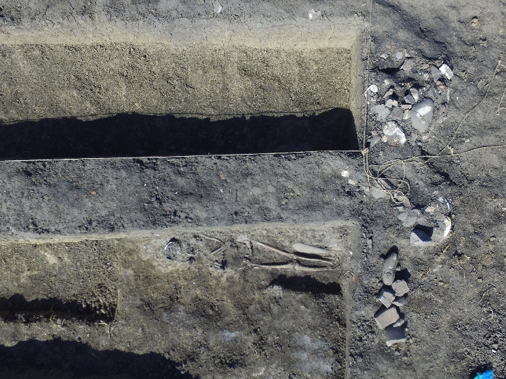 Descoperire unică în peisajul arheologic al Munteniei la Târgşoru Vechi, judetul Prahova