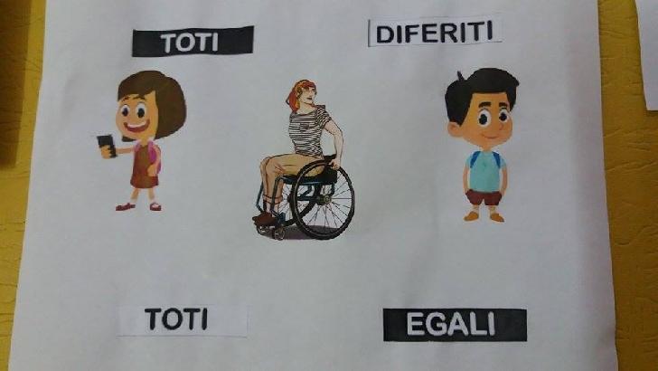 Impreuna pentru dizabilitate, impreuna pentru incluziune.Eveniment dedicat persoanelor cu dizabilitati