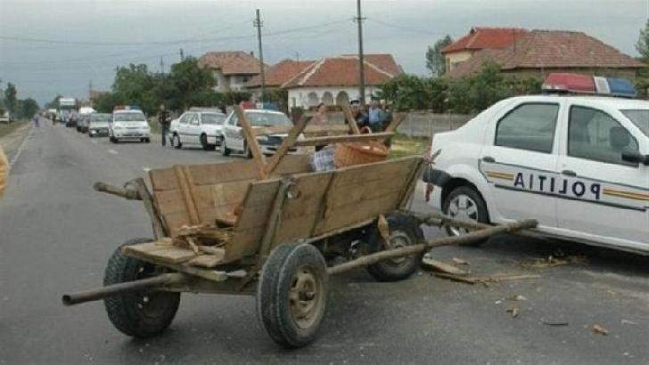 Accident rutier în Bărcăneşti