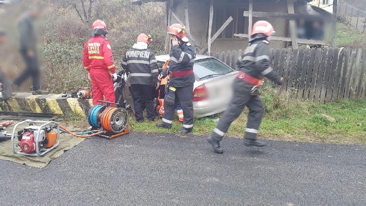 Accident rutier în satul Piatra Mică, comuna Sângeru