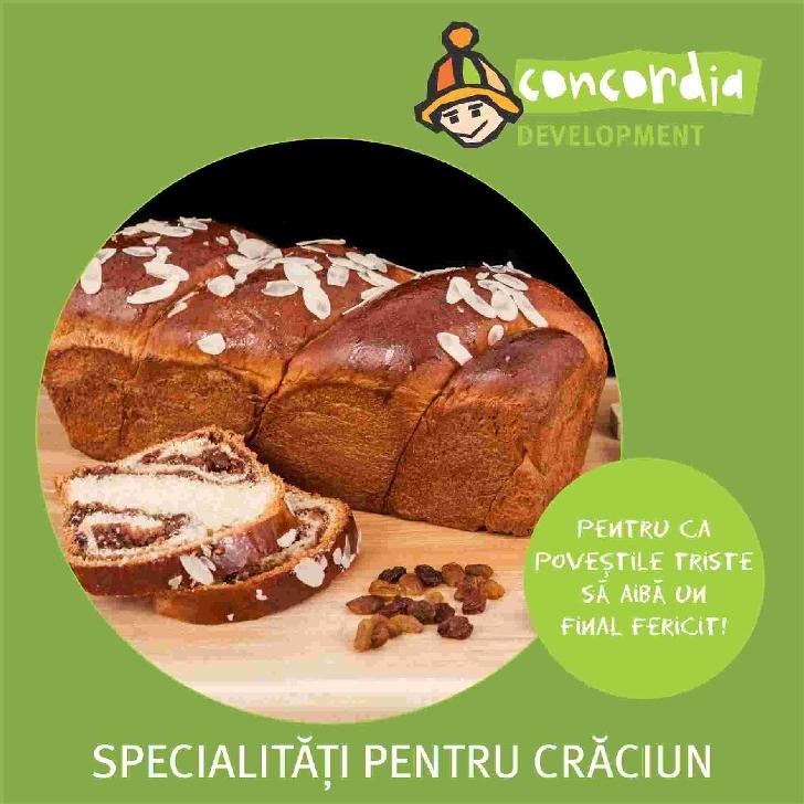 Specialitati pentru Craciun de la Brutaria CONCORDIA Romania
