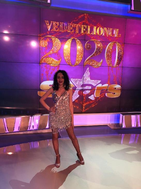 Iuliana Valentina Păun, premiantă la dans şi la şcoală