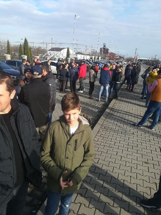 Protest anti poluare în parcul Negoiesti din comuna Brazi