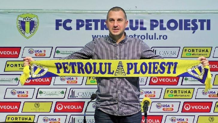 Costel Enache este noul antrenor principal al echipei Petrolul Ploiesti