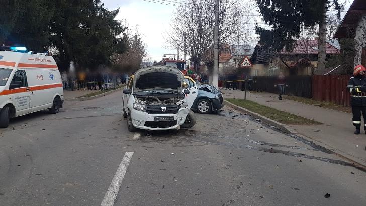 Accident grav în Breaza. Un bărbat a fost transportat la spital cu un elicopter SMURD